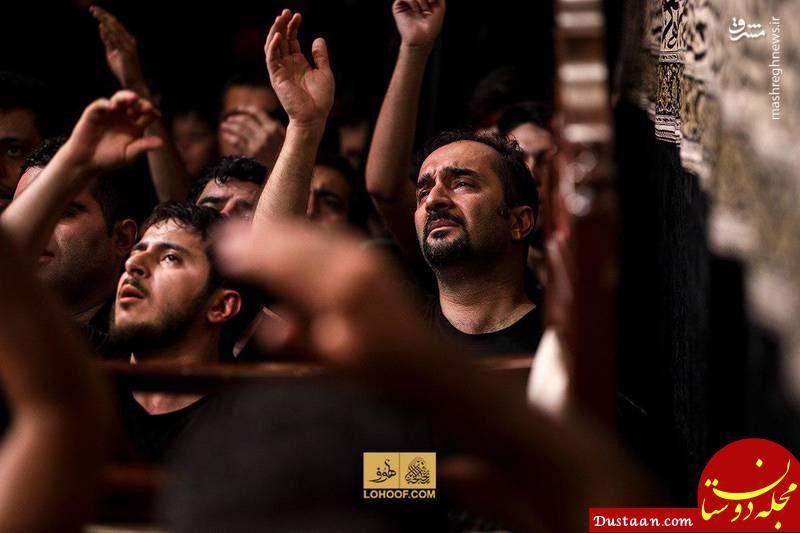 www.dustaan.com مجری سرشناس صداوسیما در هیئت بنی فاطمه +عکس