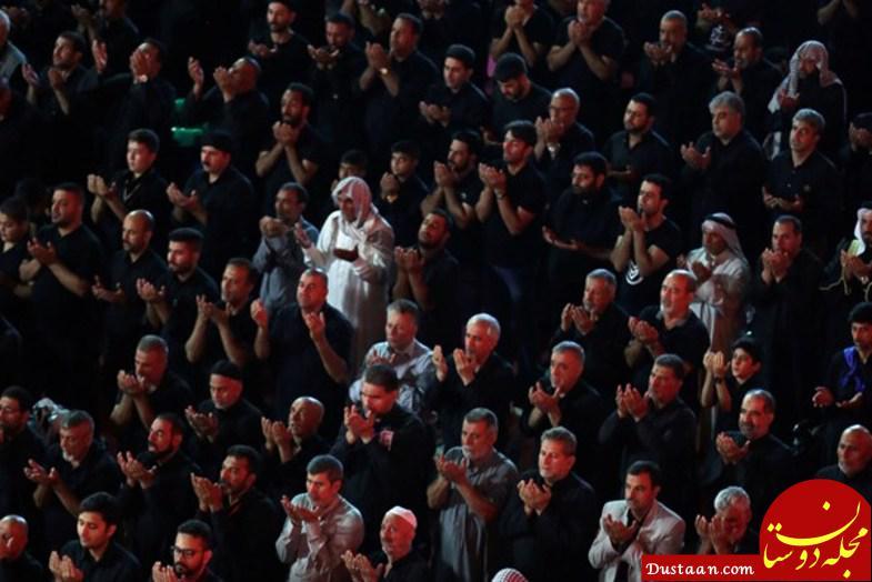 www.dustaan.com فریاد «یا حسین» 3 میلیون زائر در کربلا +عکس