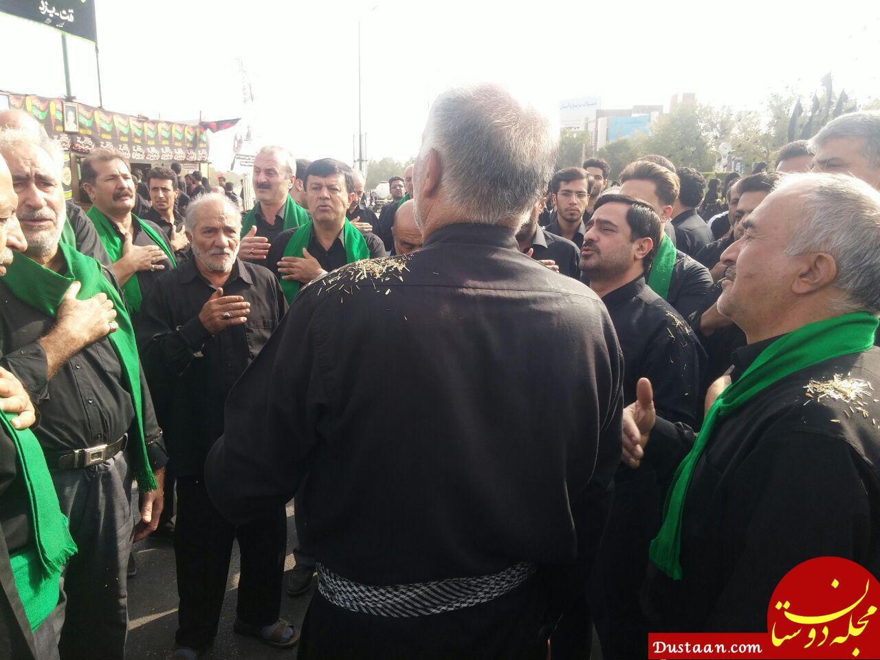 www.dustaan.com عکس: سعید مرتضوی در عزاداری روز عاشورا