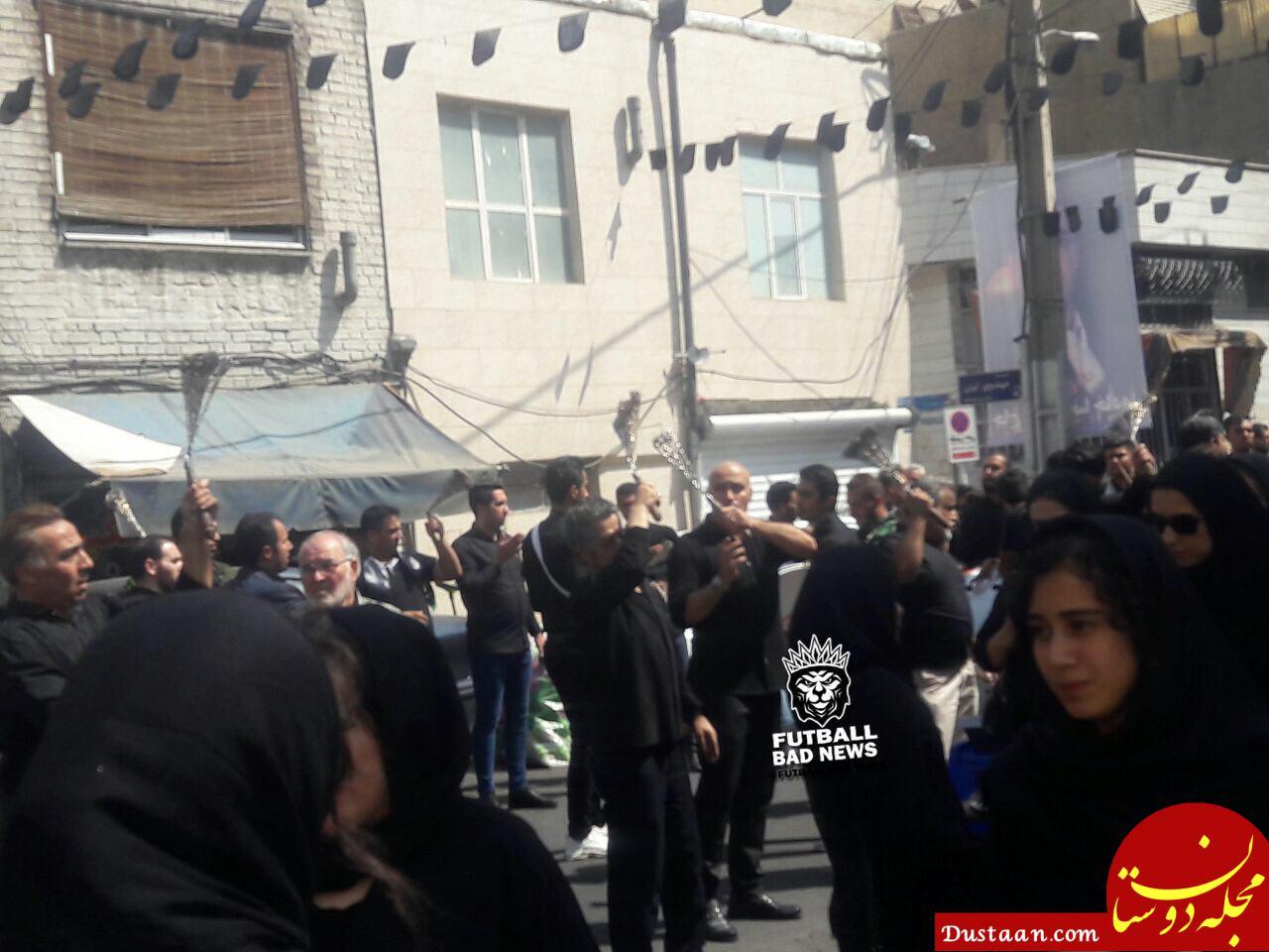 www.dustaan.com سرمربی سابق استقلال در حال زنجیر زنی +عکس