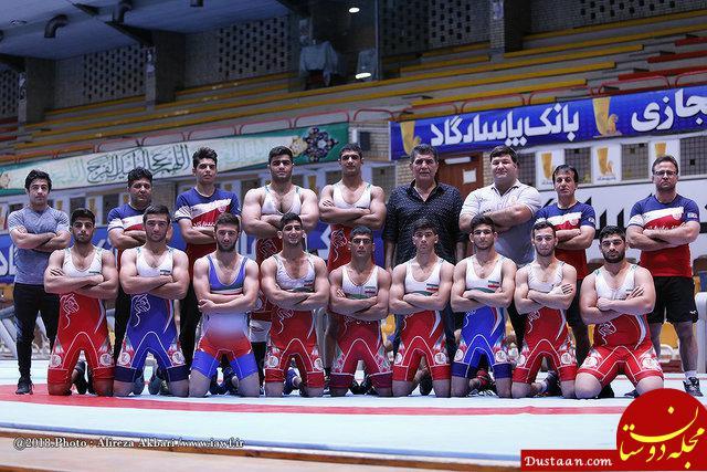 www.dustaan.com بازتاب خبر قهرمانی فرنگی کاران جوان در سایت اتحادیه جهانی کشتی