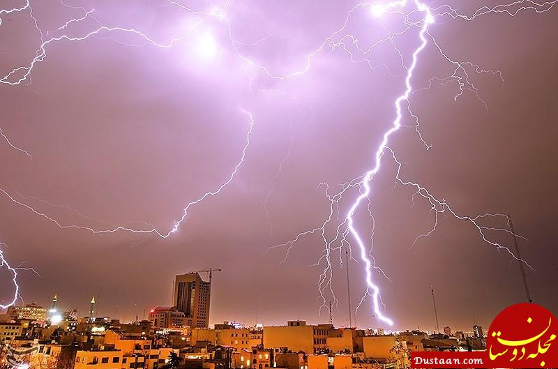 www.dustaan.com رگبار و رعد و برق در ۷ استان و احتمال وقوع سیلاب در ۳ استان کشور