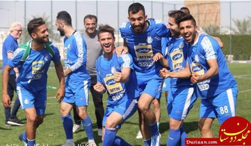www.dustaan.com دستور سرمربی استقلال به بازیکنان؛ دیگر حق اعتراض به داور ندارید