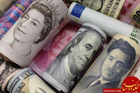 www.dustaan.com افت ارزش دلار به پایین ترین حد در 2 ماه اخیر