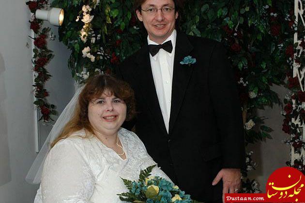 www.dustaan.com توصیه به شوهرانی که با همسر چاق مشکل دارند!