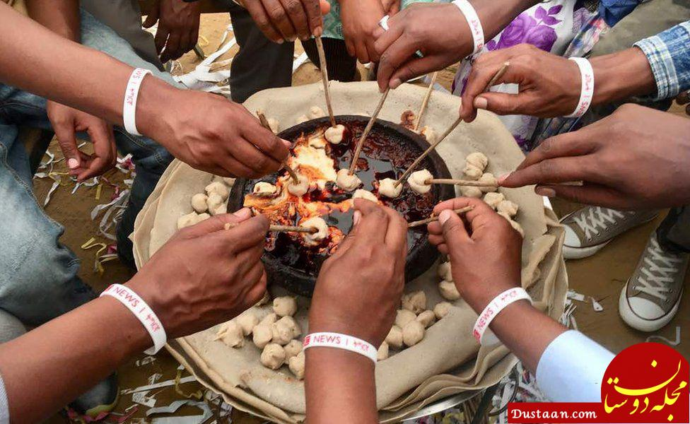 www.dustaan.com غذای مناسبتی در آفریقا +عکس