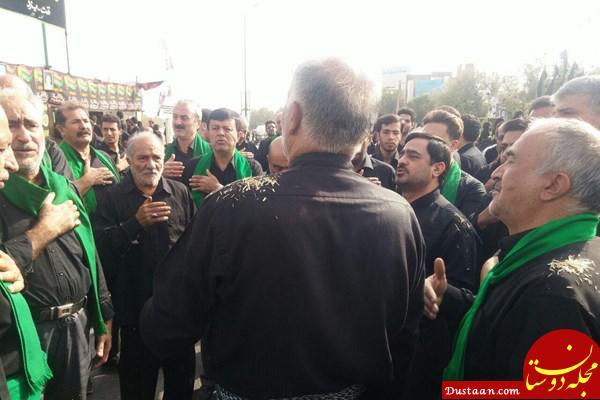 www.dustaan.com ماجرای حضور سعید مرتضوی در دسته عزاداری چه بود؟ +عکس