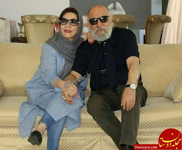 داریوش ارجمند و همسرش در یک قاب +عکس