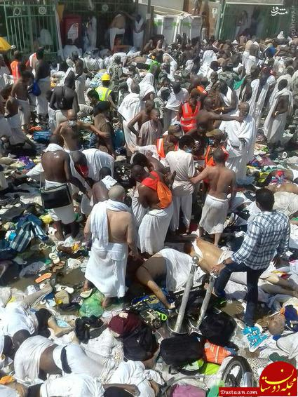 www.dustaan.com ناگفته هایی تکان دهنده از «فاجعه منا» از زبان یک شاهد عینی