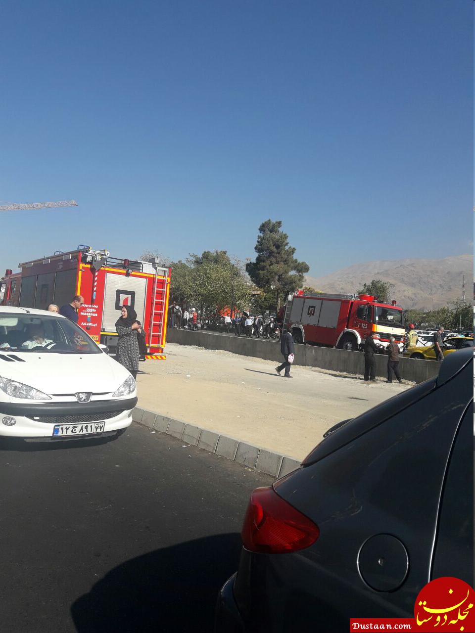 www.dustaan.com حلق آویز کردن مردی میانسال در تقاطع نیایش پارک ملت +عکس