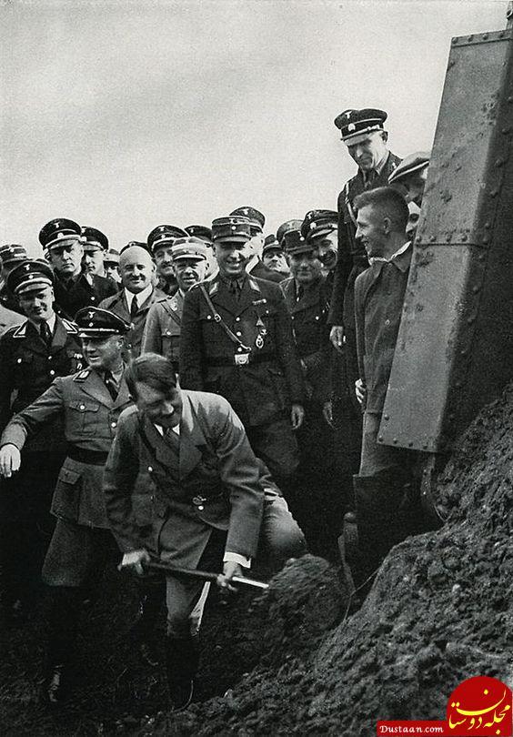 www.dustaan.com ماجرای فرار اسرارآمیز معاون هیتلر! +عکس