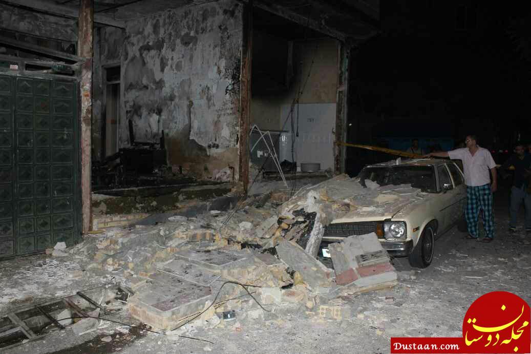 انفجار منزل مسکونی در شهرک شریعتی