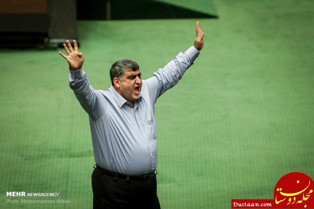 www.dustaan.com فریاد عجیب یک نماینده در صحن مجلس +عکس