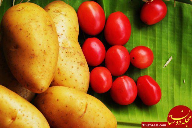 www.dustaan.com دلیل گرانی سیب زمینی و گوجه فرنگی