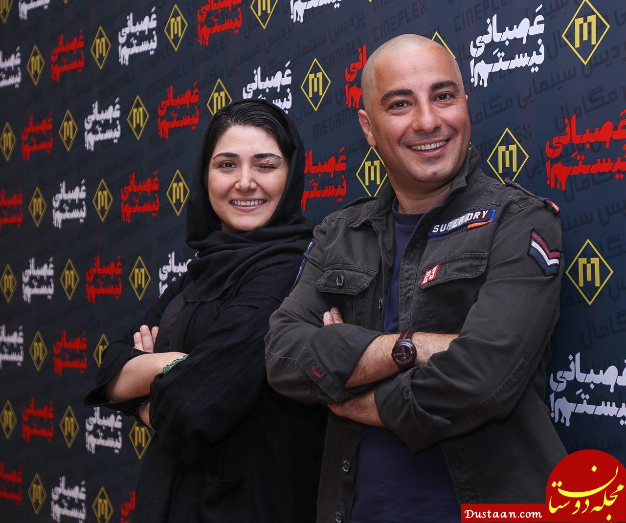 رقابت نوید محمدزاده و باران کوثری