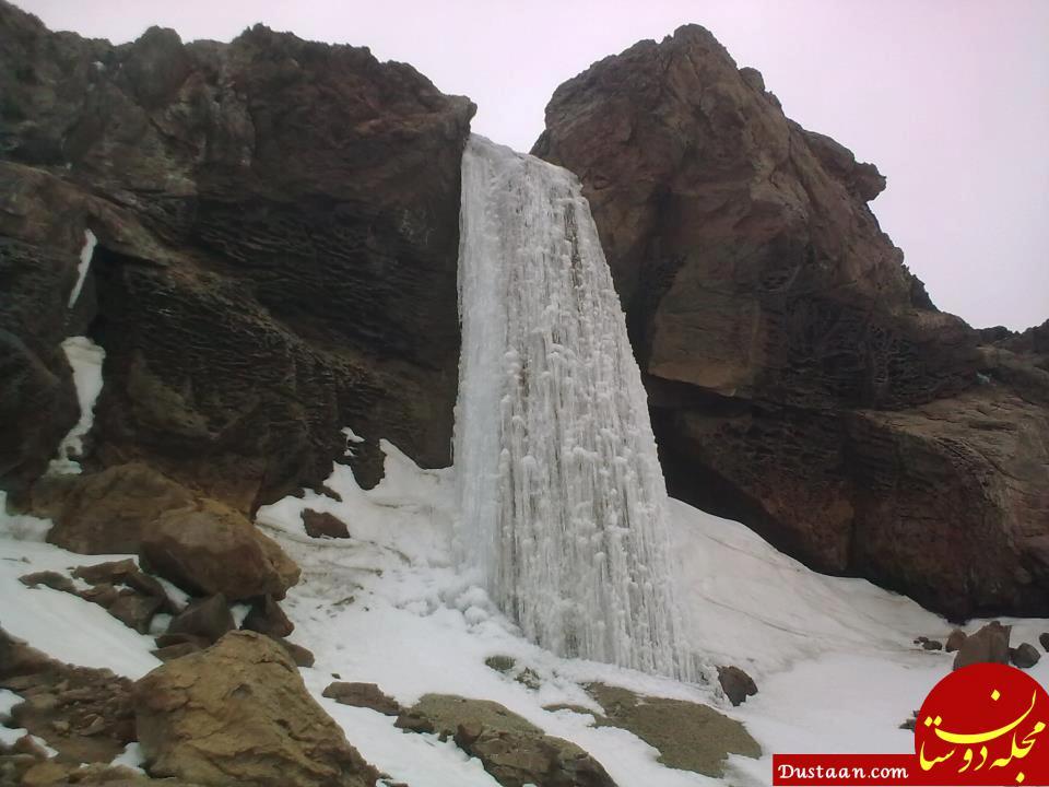 www.dustaan.com آب شدن یخچال ها و مشاهده دود از قله دماوند +تصاویر