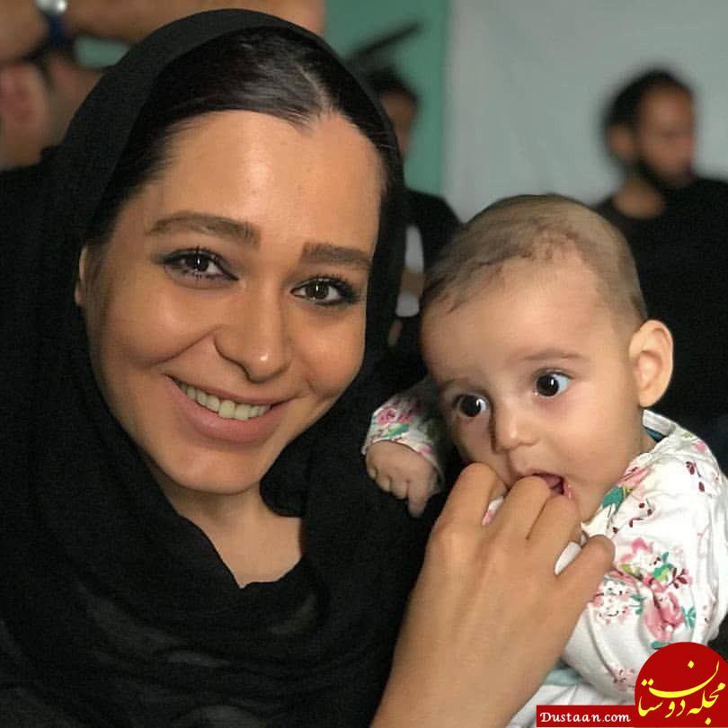 www.dustaan.com سانیا سالاری و بازیگر نقش کودکی اش در سریال دلدادگان! +عکس