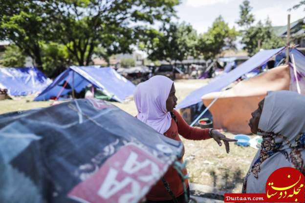 www.dustaan.com مقامات اندونزی: بیش از هزار نفر زیر آوار یک مجتمع مسکونی دولتی مدفون هستند!