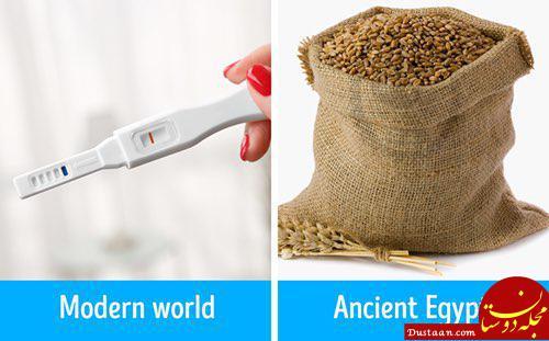 www.dustaan.com نحوه تشخیص بارداری در مصر باستان!