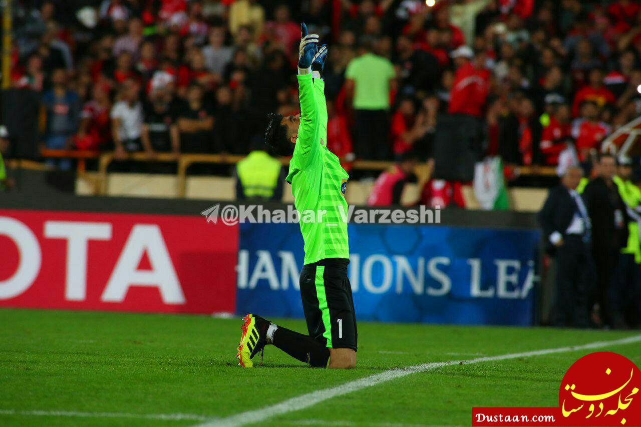 www.dustaan.com بیرانوند: اگر قرار به قهرمان نشدن باشد، بهتر است اصلاً بازی نکنیم