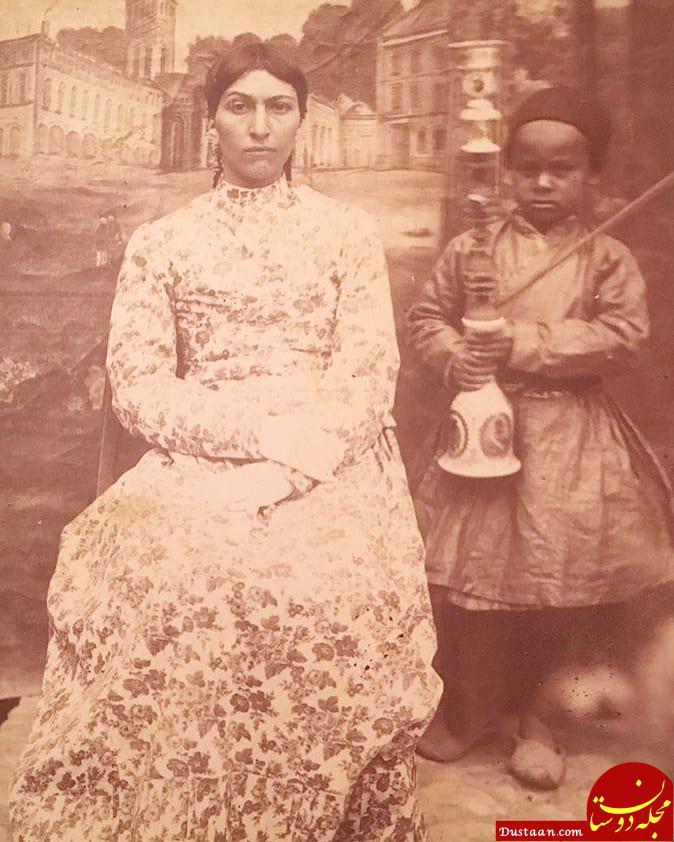 www.dustaan.com شاهزاده خانم قجری در کنار خدمتکارش! +عکس