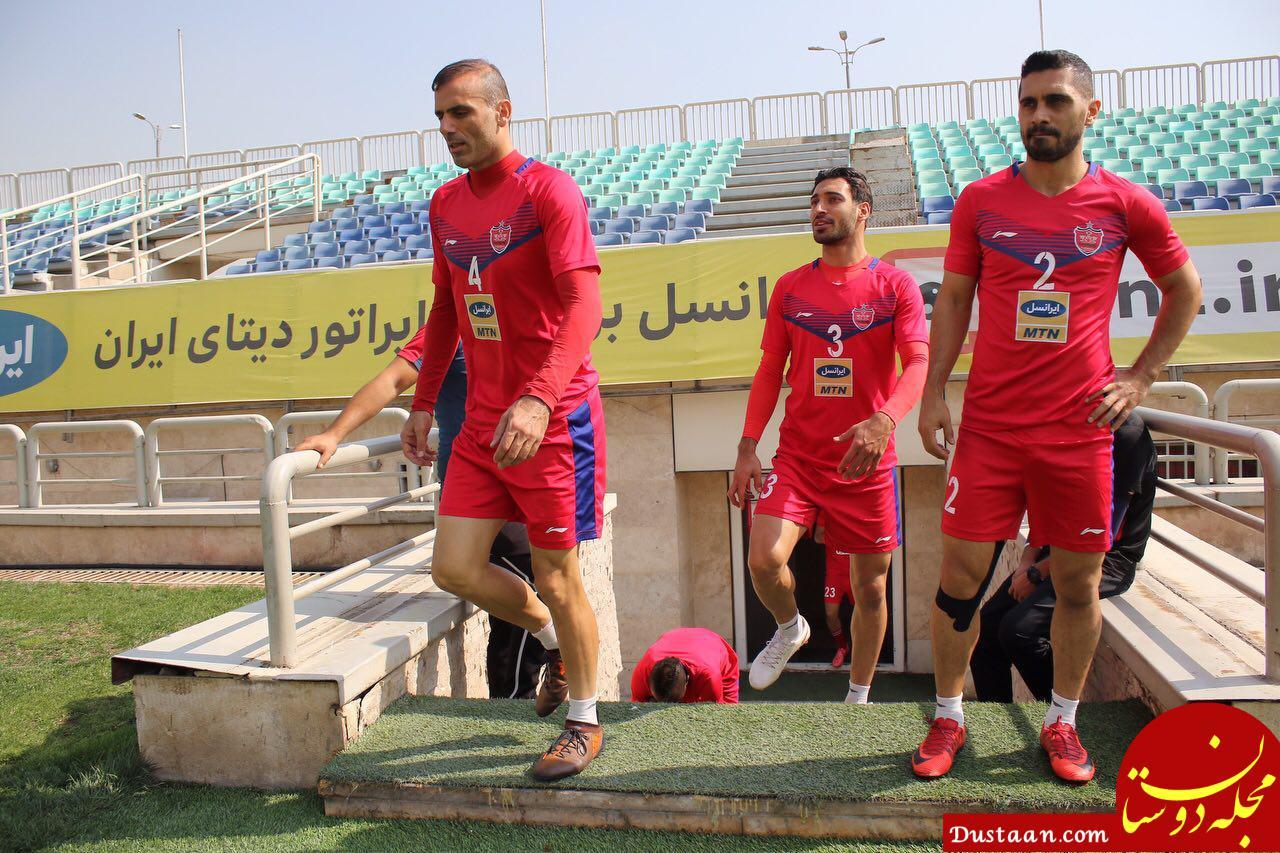 www.dustaan.com تیتر عجیب یک رسانه قطری برای سیدجلال/ کاپیتان پرسپولیس از بازی با السد می ترسد!
