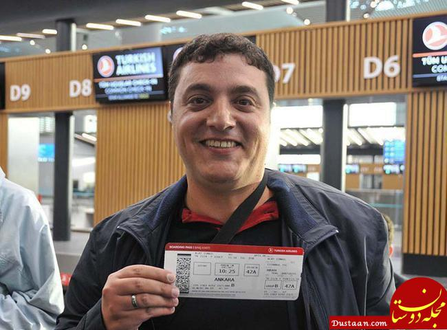 www.dustaan.com نخستین مسافر فرودگاه جدید استانبول +عکس