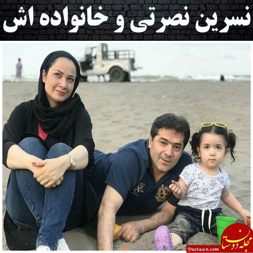 www.dustaan.com فهیمه سریال پایتخت در کنار همسر و فرزند واقعی اش! +عکس