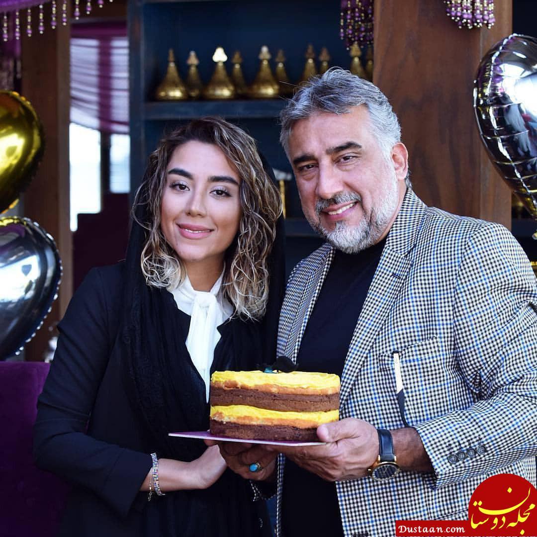 www.dustaan.com تولد محمود دینی در کنار دخترش! +عکس