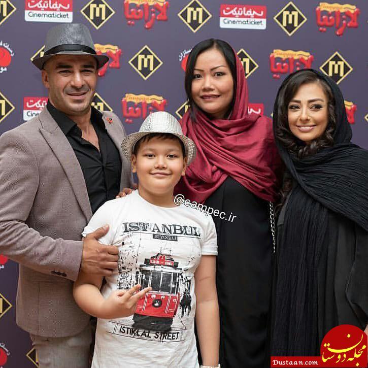 www.dustaan.com تیپ متفاوت نفیسه روشن در اکران فیلم لازانیا! +تصاویر