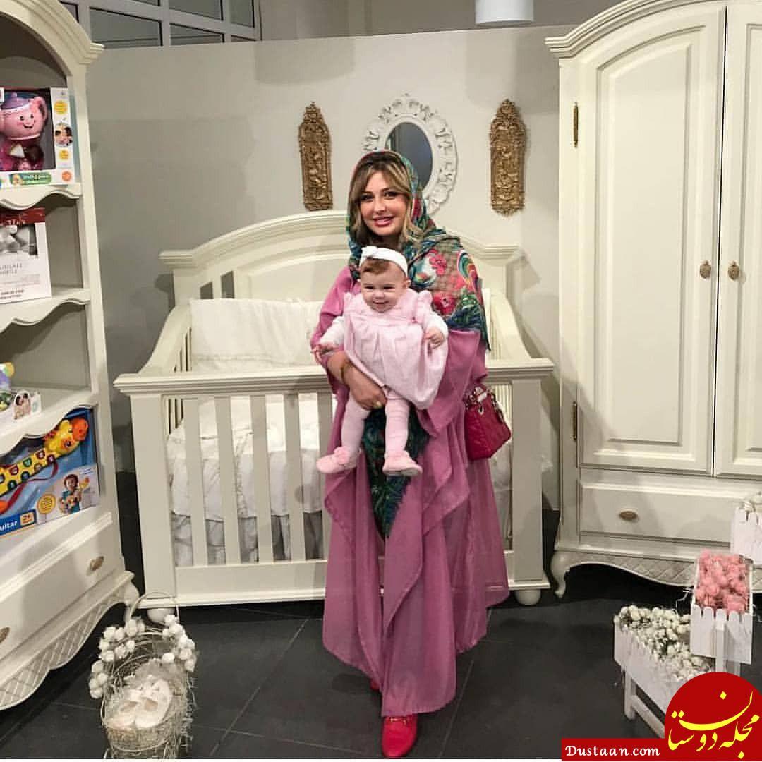www.dustaan.com نیوشا ضیغمی و دخترش لنا در یک قاب! +عکس