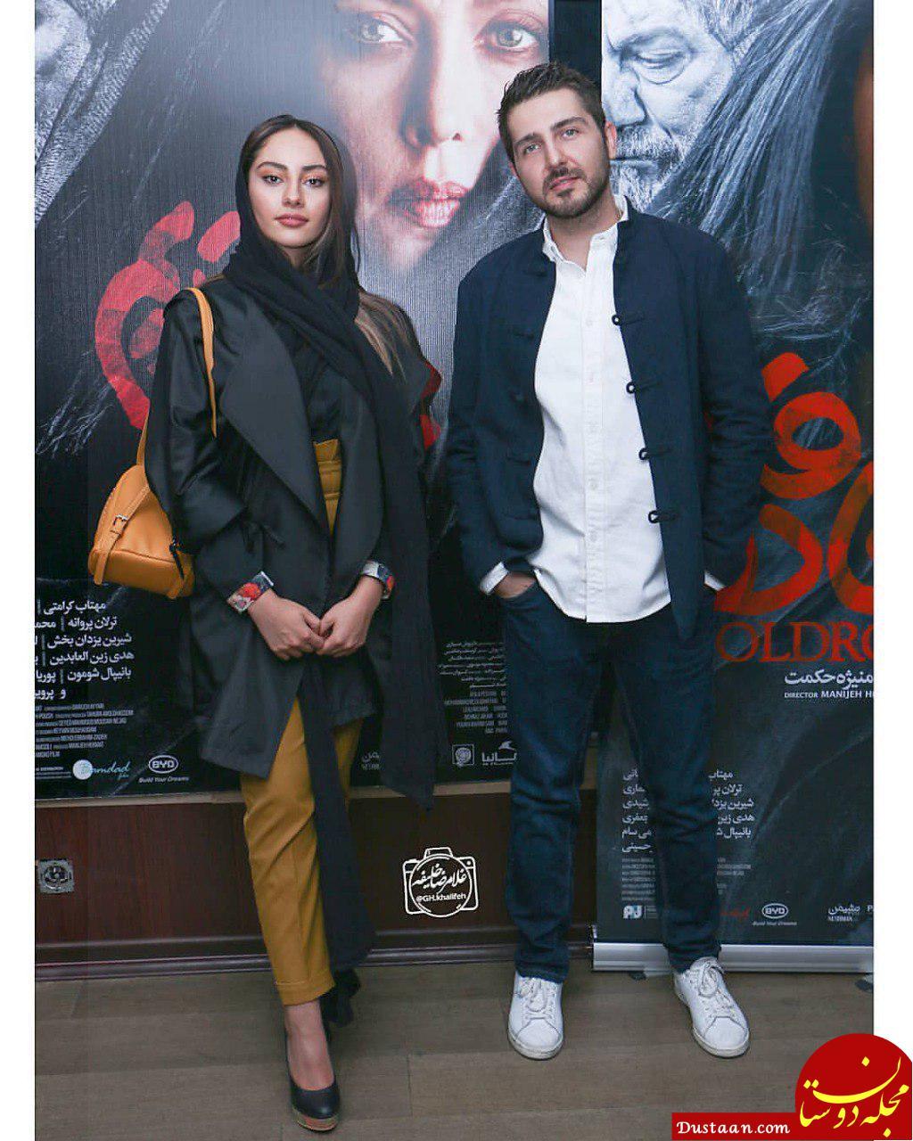 ترلان پروانه و محمد رضا غفاری در اکران جاده قدیم