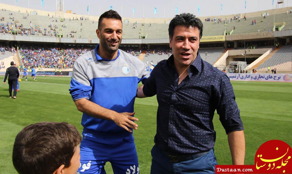 www.dustaan.com نوازی پیشکسوت استقلال: شفر روی بازیکنان خود تمرکز ندارد