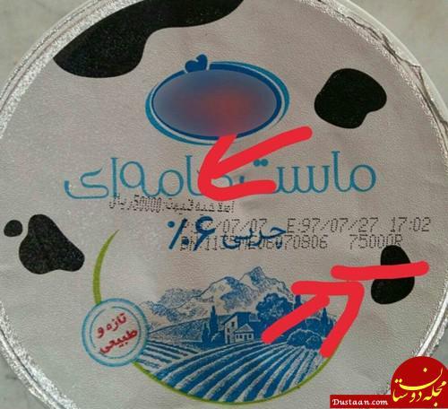 www.dustaan.com حرکت زیبای یک شرکت لبنیاتی با ارزان شدن دلار! +عکس