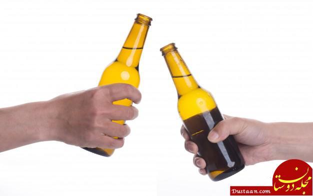 www.dustaan.com فروش آبجو در بطری دلستر در سوپرمارکت های شمال تهران!