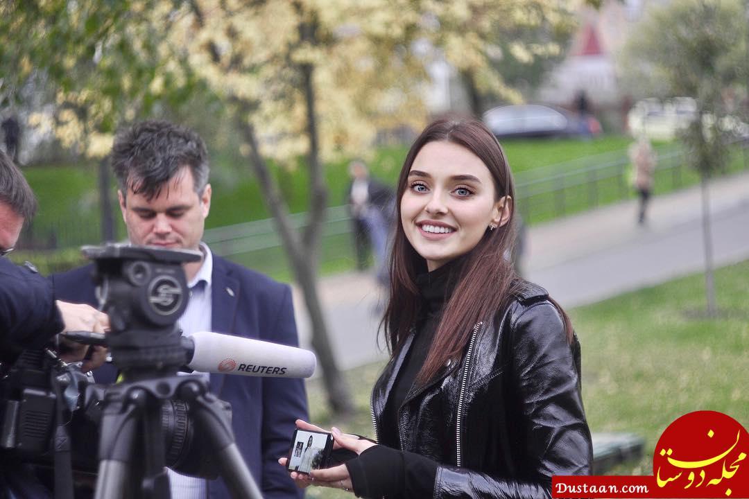 www.dustaan.com تاج ملکه زیبایی اوکراین را به خاطر مادر شدن پس گرفتند! + تصاویر