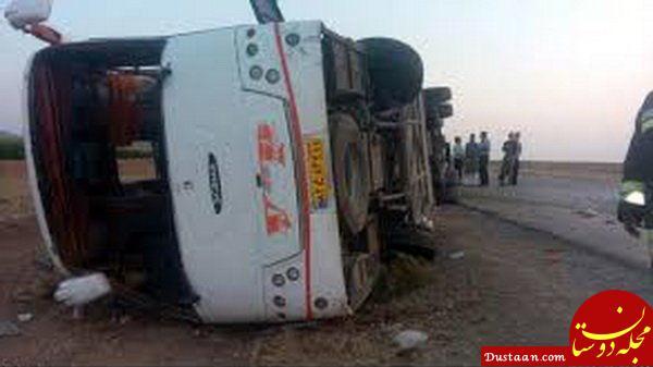 www.dustaan.com افزایش قربانیان واژگونی اتوبوس دانش آموزان در نزدیکی تبریز