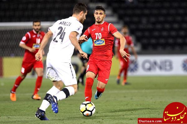 www.dustaan.com قنبرپور: تمرکز تیم پرسپولیس بر بازی با السد است