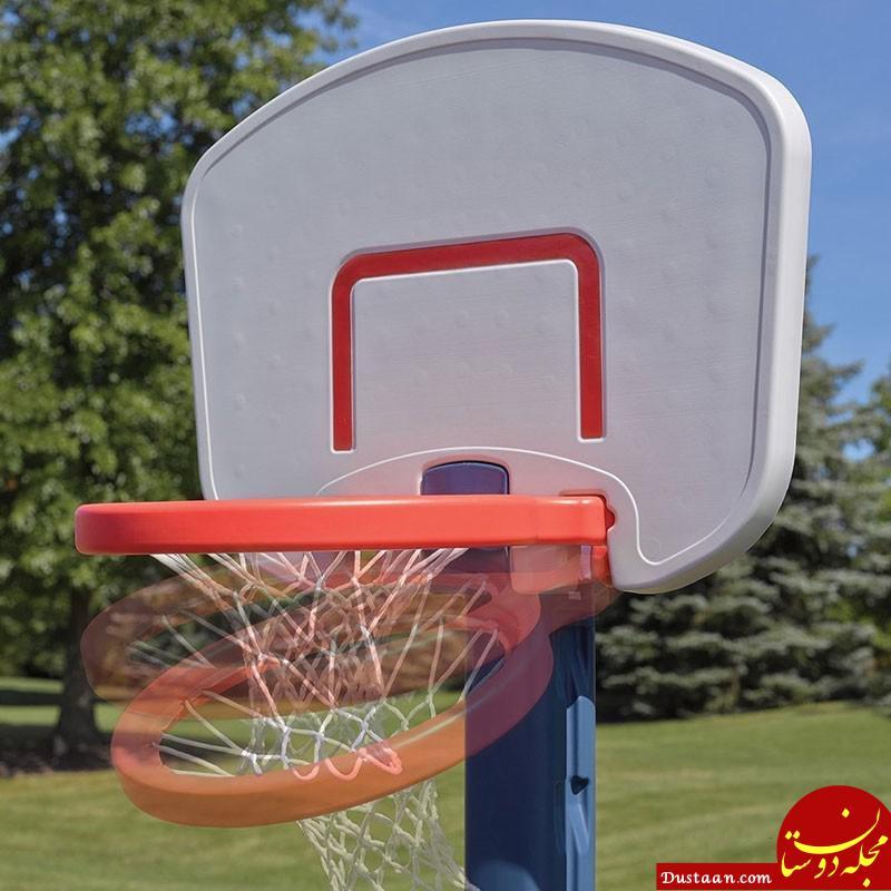 www.dustaan.com حلقه بسکتبال، جان دانش آموز هرمزگانی را گرفت!