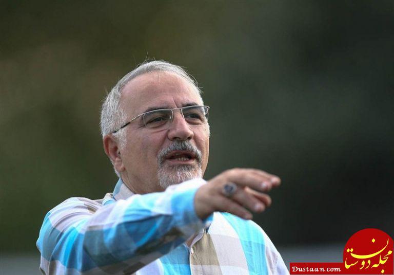 www.dustaan.com اصغر حاجیلو: پستم را می دهم از استقلال انتقاد نکنید
