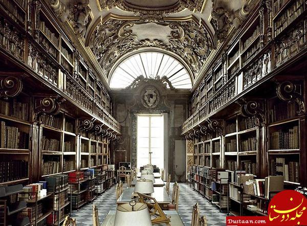 www.dustaan.com زیباترین کتابخانه های جهان +تصاویر