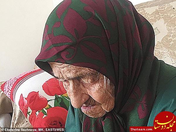 www.dustaan.com پیرترین زن جهان از سختی های زندگی اش می گوید! +تصاویر