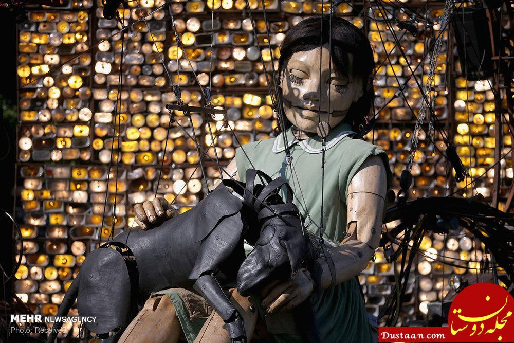 www.dustaan.com نمایش عروسک های غول پیکر در کشورهای مختلف دنیا +تصاویر