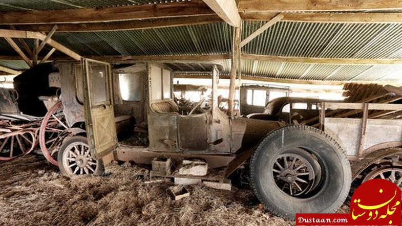 www.dustaan.com لو رفتن انبار سری پر از خودروی خاص! +تصاویر