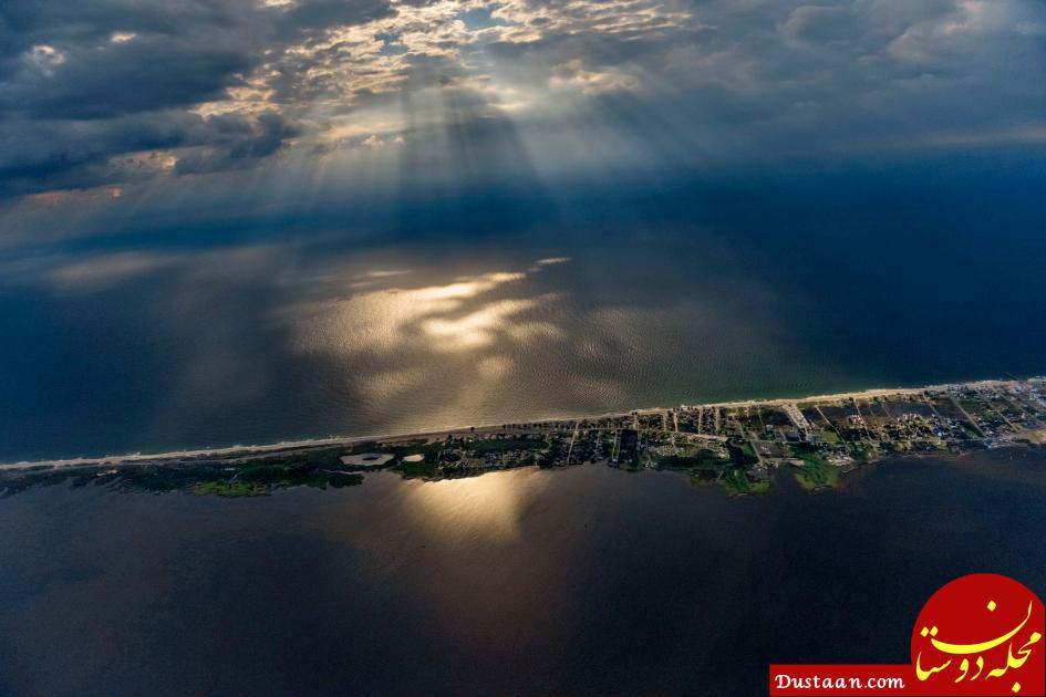www.dustaan.com عکس نشنال جئوگرافیک از جزیره هترس در ایالت کارولینای شمالی آمریکا