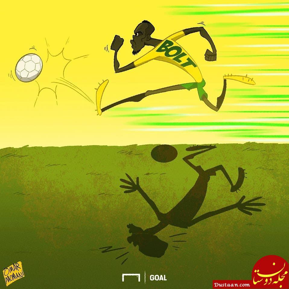 www.dustaan.com دونده ای که فوتبالیست و گلزن شد! +عکس