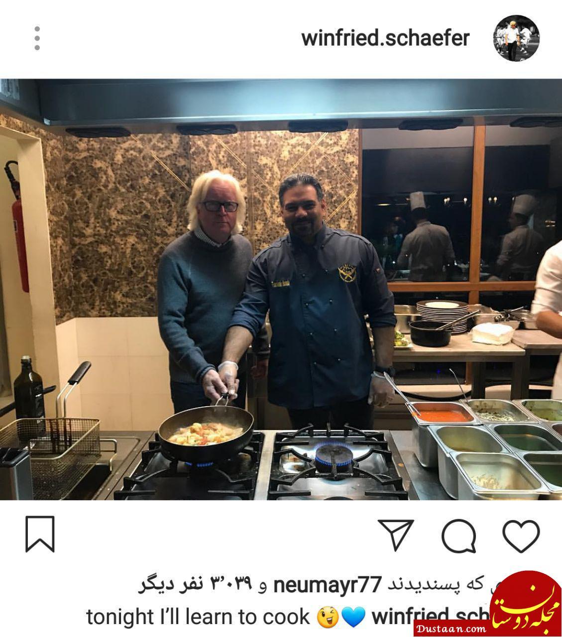 www.dustaan.com تصویری متفاوت از سرمربی استقلال! +عکس