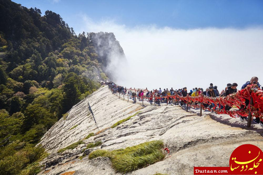 www.dustaan.com عکی های زیبا از از خطرناک ترین مسیرهای پیاده روی جهان!