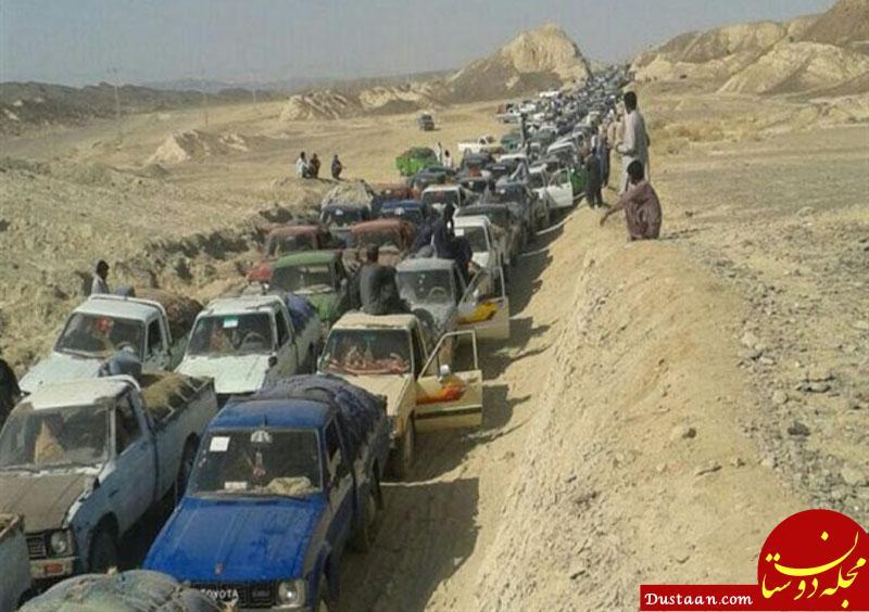 www.dustaan.com قاچاقچیان سوخت هر دقیقه 138 تا 277 میلیون تومان به جیب می زنند