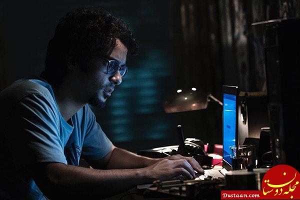 www.dustaan.com گریم خاص ساعد سهیلی در «نهنگ آبی» +عکس